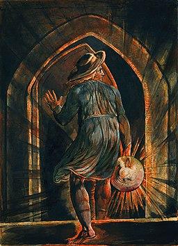 William Blake - Los Entering the Grave - WGA02220