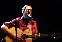 Description de l'image  William Fitzsimmons at Schubas.jpg.