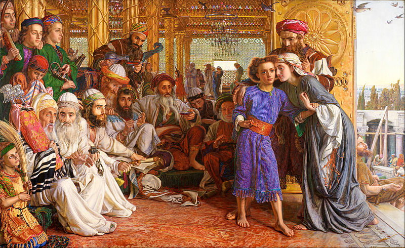 File:William Holman Hunt - The Finding of the Saviour in the Temple - Google Art Project.jpg