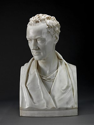 William Howley - Marble bust of Howley by Joseph Nollekens, 1821. Yale Center for British Art