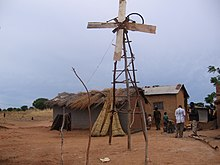 Kamkwamba's first windmill.