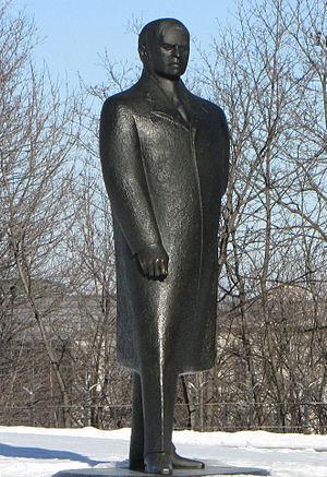 Raoul Hunter - Image: William Lyon Mackenzie King statue