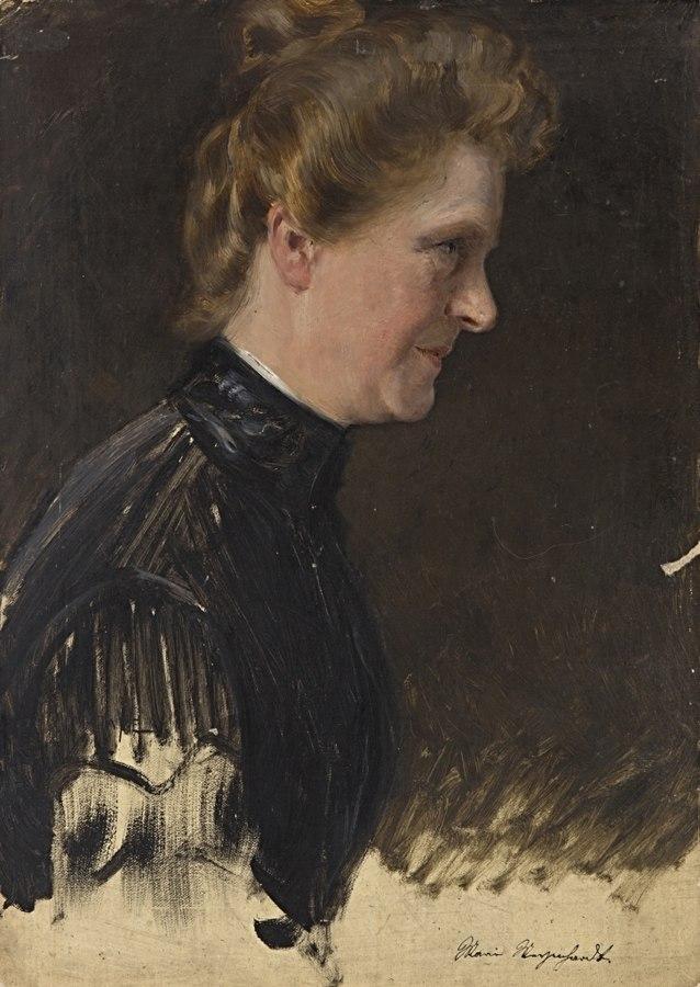 Portraitstudie Marie Meyenhardt