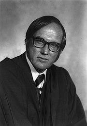 Rehnquist portrait as an Associate Justice in 1972.