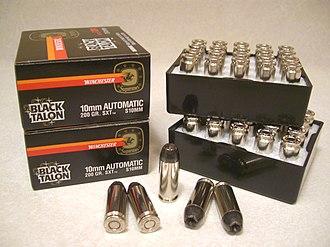 Black Talon - Image: Winchester Black Talon 10mm