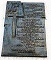 Winiary church, Poznan, plaque.JPG