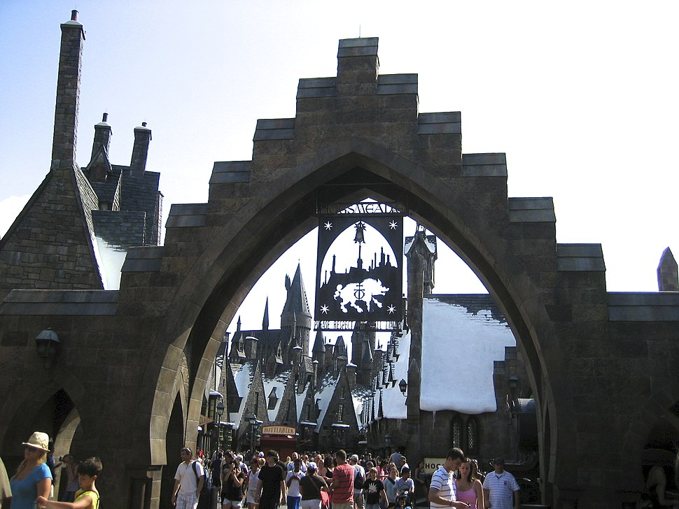 Wizarding World Entrance