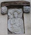Wolfsberg - Pfarrkirche - Römerstein2.jpg