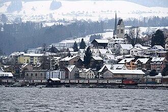 Wollerau - Image: Wollerau Zürichsee IMG 8368