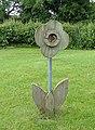 Wooden Flower - geograph.org.uk - 865693.jpg