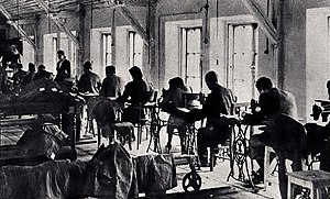 Többens and Schultz - Textile manufacturing plant in the Warsaw Ghetto