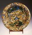 Workshop of Andrea da Negroponte - Dish with the Contest of Apollo and Marsyas - Walters 481500.jpg