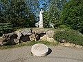 World War II memorial by Róbert Csíkszentmihályi, 1995. - Biatorbágy, Pest County, Hungary.jpg