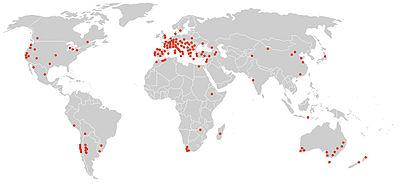 Wijngebieden europa