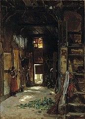 Interior of a Westphalian Cottage