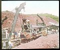 Wrecking crane freeing steam shovel (3607564131).jpg