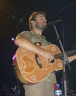 Xavier Rudd Australian singer and songwriter