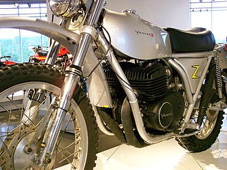 Yankee (motorcycle) - A 1972 Yankee 500Z model