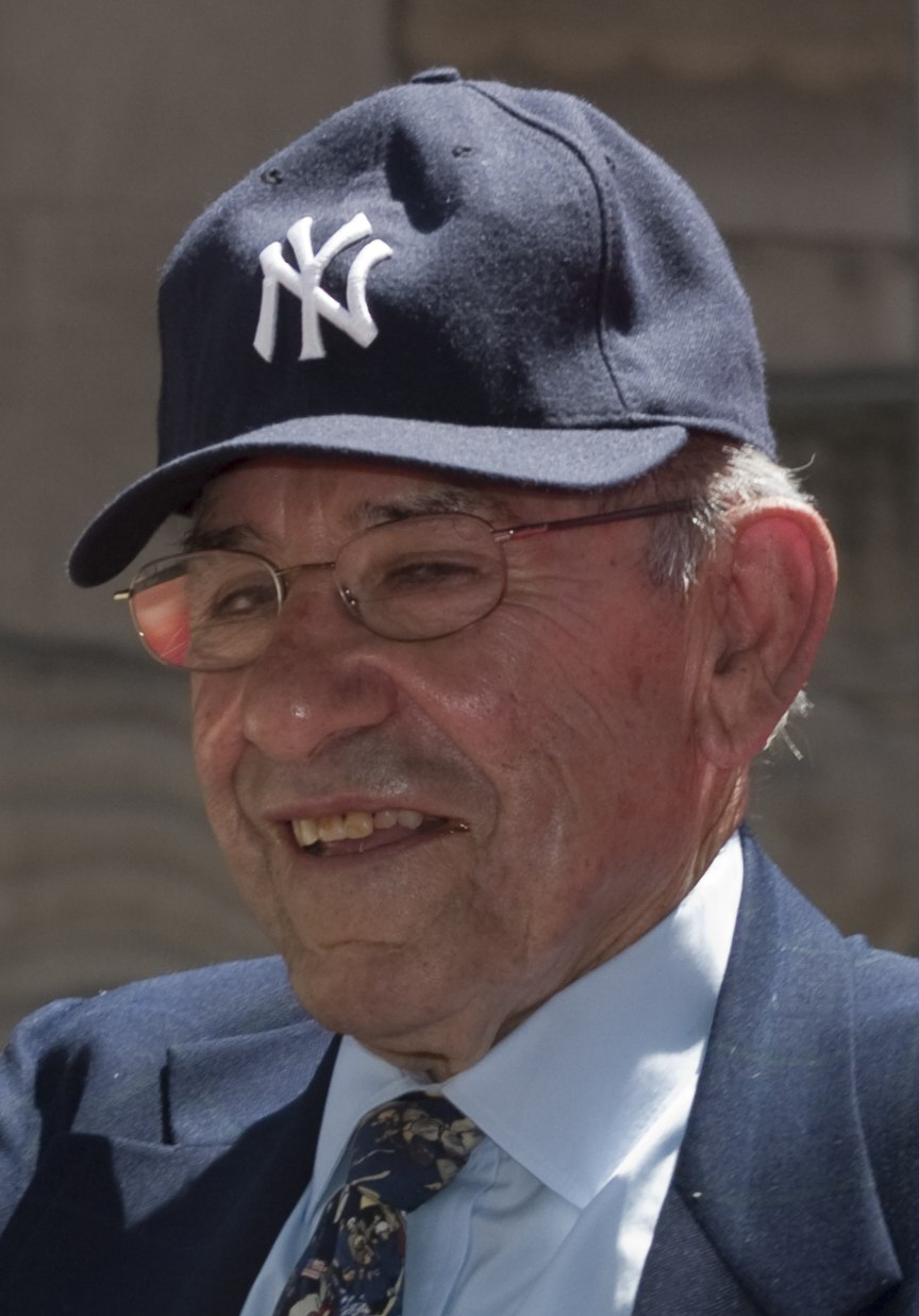 Yogi Berra 2009 (cropped)