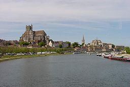 The Yonne at Auxerre