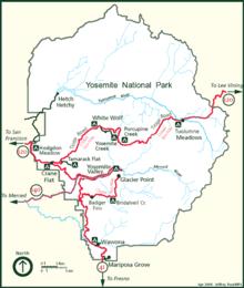 Geography of the Yosemite area - Wikipedia
