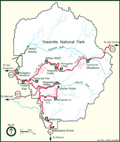Дорожная карта парка