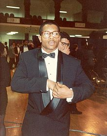 Young MC at the 1990 Grammy Awards.