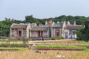 Yunan County - Ancient Buildings in Dawan