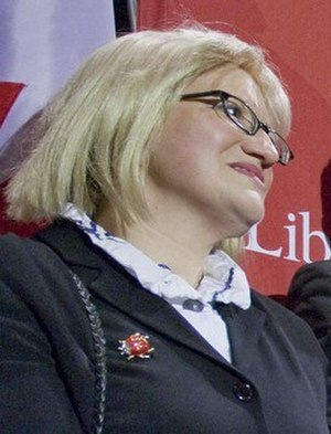 Liberal Party of Newfoundland and Labrador - Yvonne Jones in 2011
