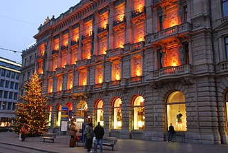 Credit Suisse - Credit Suisse on the Zürich Paradeplatz