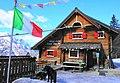 Zacchi Hütte, Luigi Zacchi, Tarvis, Provinz Udine, Italien.jpg