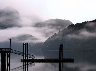 Zeballos, British Columbia - Zeballos harbour