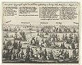 Zeeslag bij Terheide tussen de Staatse vloot onder Tromp en de Engelse vloot onder Monck, 1653 Over-Groot Zee-geveght tussen den Holl. Heer L. Adm. Tromp, en den Eng. Adm. Monk den 10 August. 1653 (titel op object), RP-P-OB-81.765.jpg