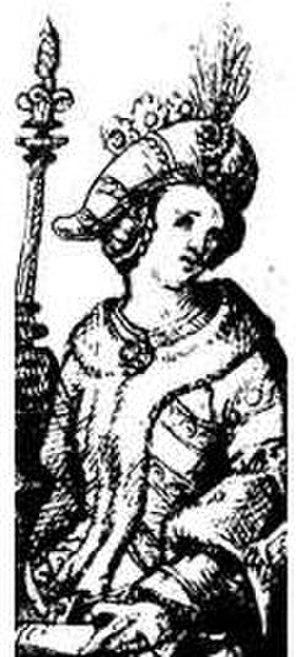 Sophia of Halshany - 16th-century miniature of Sophia