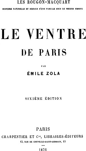 Le Ventre de Paris cover