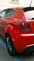 """14 - ITALY - Alfa Romeo MiTo QV - Quadrifoglio Verde sports car (rear light) bright Carbon fibres.jpg"