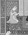 """Bahram Gur in the Red Palace on Tuesday"", Folio 220 from a Khamsa (Quintet) of Nizami MET 187678.jpg"