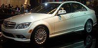 '08 Mercedes-Benz C-Class Sedan (Montreal).JPG
