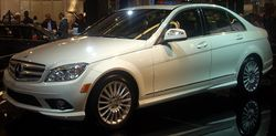 '08 Mercedes-Benz C-Class Sedan (Montreal).JPG