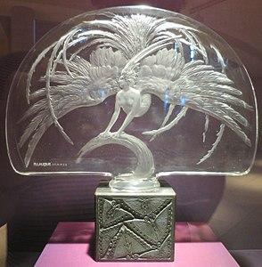 'Oiseau de Feu' made by Rene Lalique, Dayton Art Institute.JPG