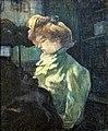 (Albi) La modiste, Melle Louise Blouet dite d'Enguin 1900 - Toulouse-Lautrec, MTL.212.jpg