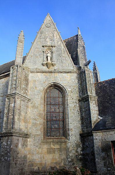 Église Notre-Dame-de-la-Fosse: façade sud-est
