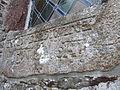 Église Notre-Dame du Lorreur - Pierre tombale levée.JPG