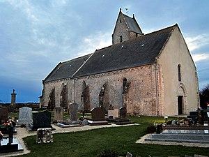Foucarville - The church of Saint-Lô