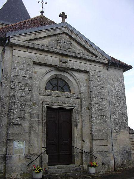 Saint Michel's church in Blaise (Haute-Marne, Champagne-Ardennes, France).