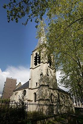 Église Saint-Saturnin, classée aux monuments historiques