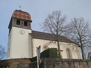 Étupes - Image: Église d'Étupes 002