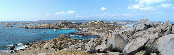 Panorama delle Isole Lavezzi