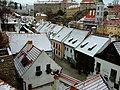 Český Krumlov, pohled na Parkán od regionálního muzea.jpg