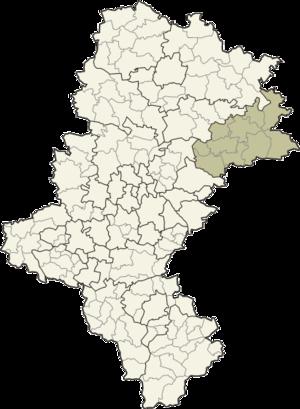 Zawiercie County - Image: Śląskie zawierciański